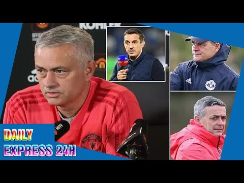 Gary Neville hits out at United chiefs over treatment of Jose Mourinho
