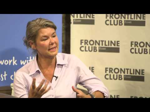 Sky's Alex Crawford on how she made it as a war reporter and girls in conflict (Plan Talks)