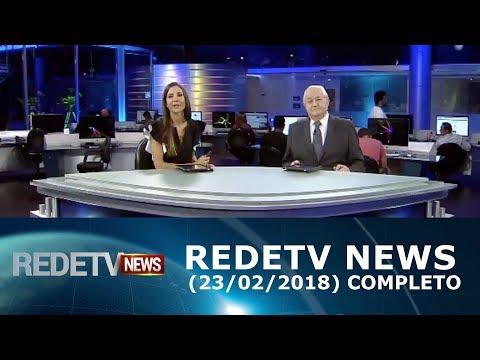 RedeTV News 230218  Completo