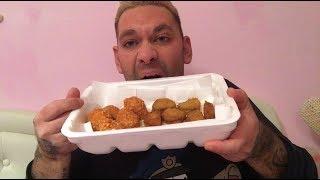 EATING SHOW MUKBANG ITA ARANCINI E NUGGETS TROPPO BUONO!!!!