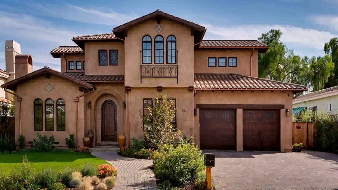 Tuscan Style Homes Pictures - YouTube