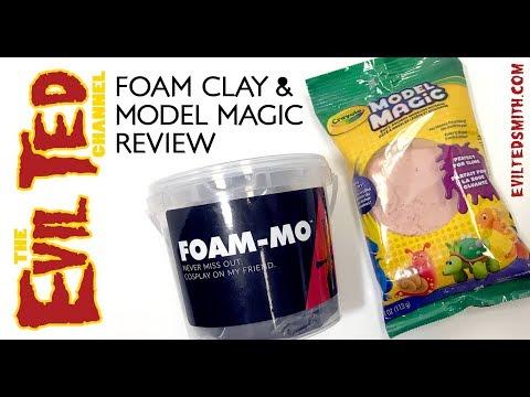 Foam Clay & Model Magic Review.