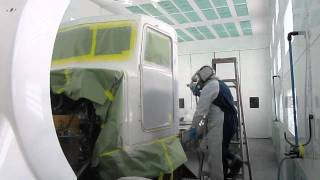 Hec Kenworth Paint In Heated Booth