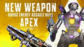 First Look At The New Havoc Energy Gun In Apex Legends   New Havok Energy Rifle