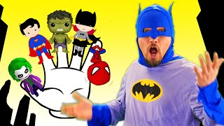 Finger Family Superheroes | Song for Kid & Nursery Rhymes by Chu Chu Ua