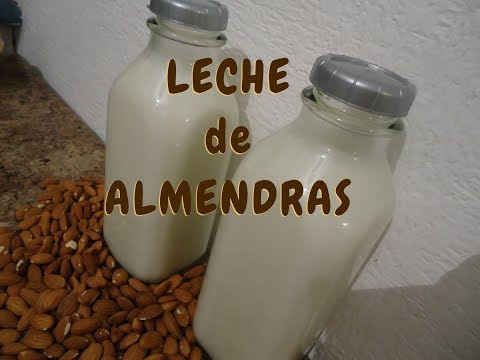 LECHE DE ALMENDRAS - PURA Y NATURAL - VIDEO 1 - Lorena Lara