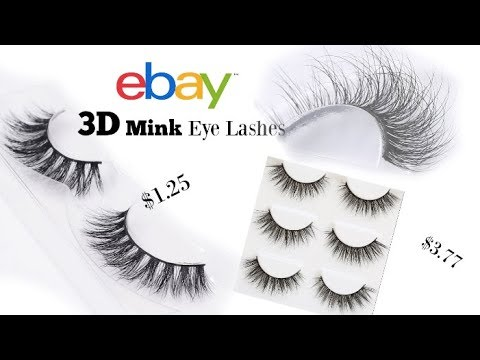 eBay CHEAP EYELASH FINDS UP CLOSE | Review | LIVE Demo |GoldenPoise