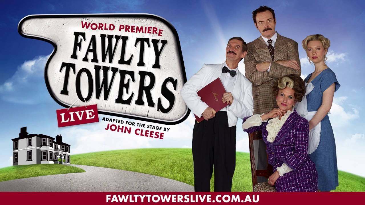 fawlty towers With john cleese, prunella scales, andrew sachs, connie booth hotel owner basil fawlty's incompetence, short fuse, and arrogance form a combination that ensures accidents and trouble are never far away.