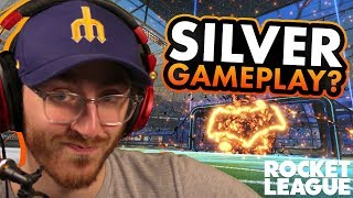 I'm a Silver! - Rocket League Gameplay