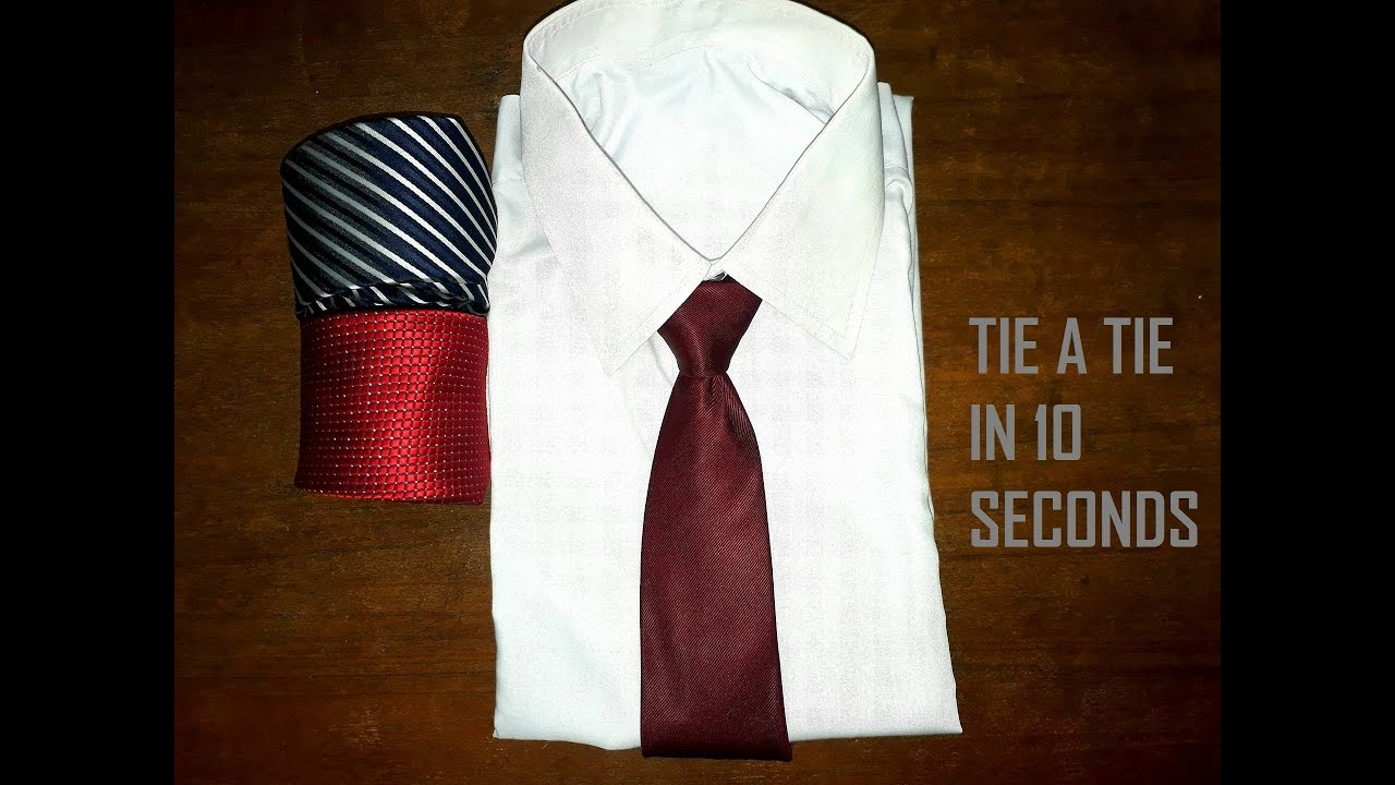 How to tie a tie within 10 seconds 10 seconds to tie a tie tie how to tie a tie within 10 seconds 10 seconds to tie a tie tie a tie like a boss ccuart Image collections