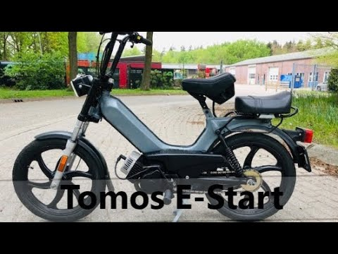 Goede Custom Tomos E-Start - YouTube UF-83
