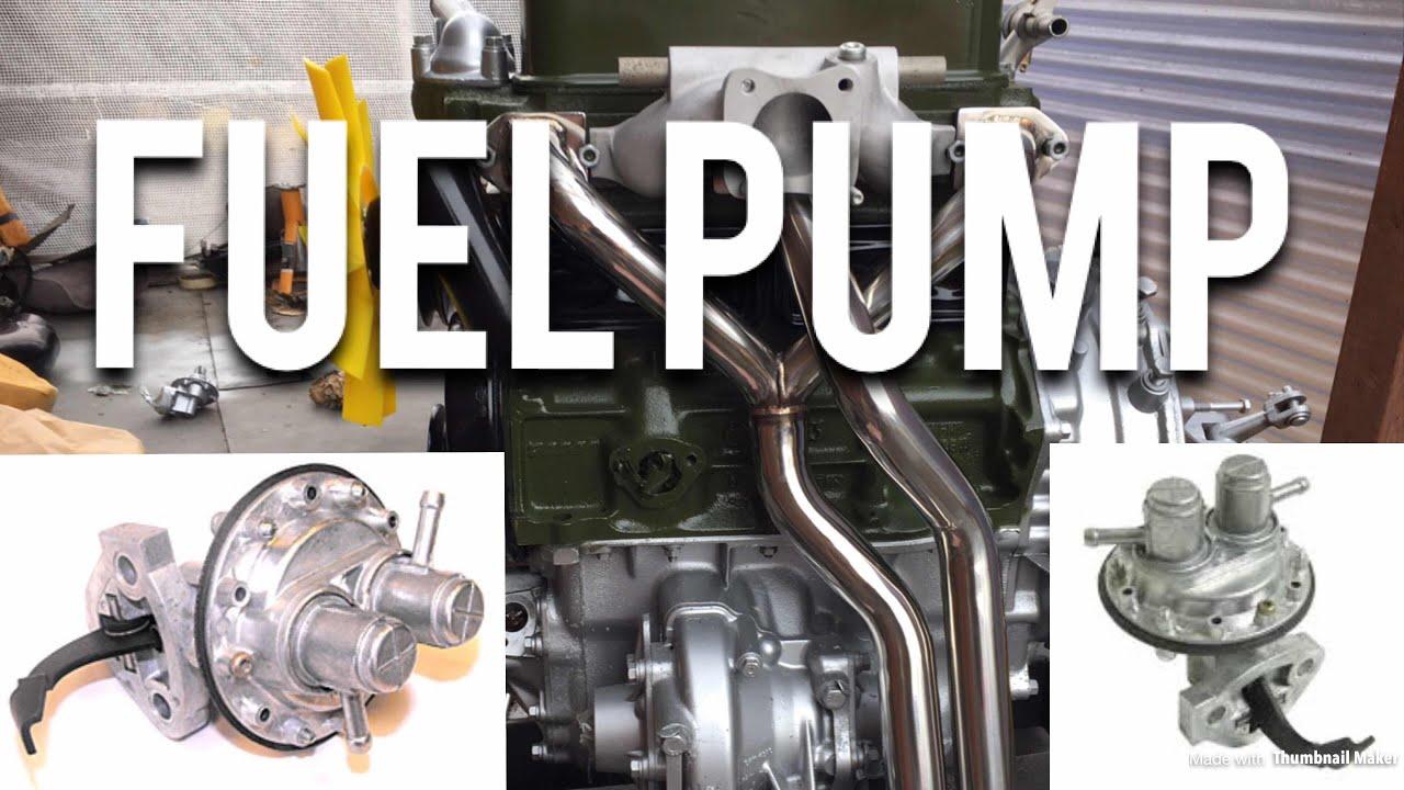 hight resolution of classic mini restoration fitting the fuel pump