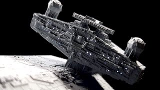 Building Bandai's Imperial Star Destroyer