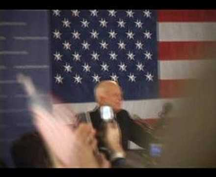 McCain:Full New Hampshire Primary '08 Victory Speech, Part1