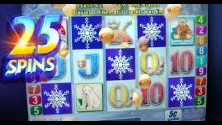 Seal the Deal 5 SCATTERS Bonus + Re-Trigger BIG WIN - 5c Aristocrat Video Slots