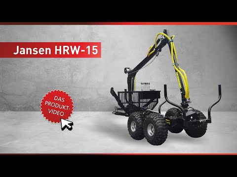 Holzrückewagen Jansen HRW-15