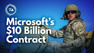 How Microsoft beat Amazon to build the US Military's cloud