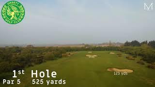 Orsett Golf Club 1st Hole Flyover