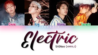 Baixar SHINee (샤이니) - 'ELECTRIC' Lyrics [Color Coded Han|Rom|Eng]