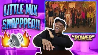 Little Mix - Power (Official Video) ft. Stormzy (REACTION!!!!)
