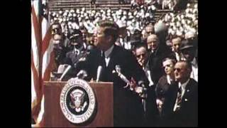 The 50th anniversary of John F. Kennedy's speech at Rice University