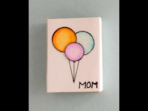 Matchbox Craft Idea, How to make a Matchbox Gift Box, DIY Mother's Day Gift, Mother's Day Craft Idea