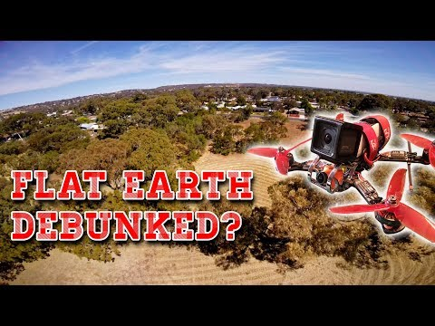 Proof the earth isn''t flat 😂 thumbnail