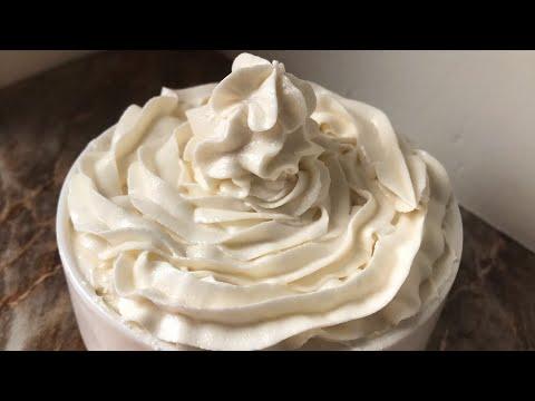 Vanilla butter cream frosting recipe
