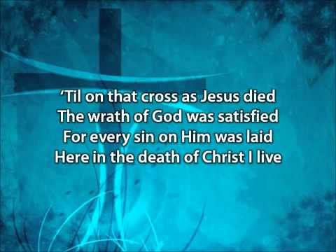 In Christ Alone   Adrienne Liesching and Geoff Moore with lyrics   YouTube