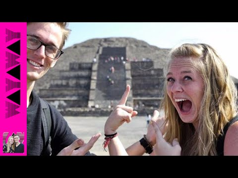 Crazy Abandoned Mexican Pyramids?! △✌️ (Teotihuacan) - Travel Couple VLOG #330