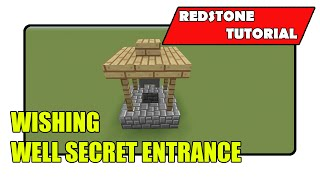 Wishing Well Secret Entrance (minecraft Xbox Tu20/playstation Cu8)