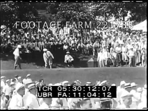 1930 Jones Wins U.S. Open 221735-24 | Footage Farm