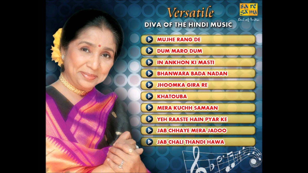 Asha Bhosle Songs List