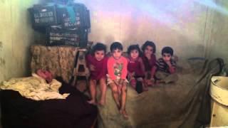 Slum apartment for Syrian refugees