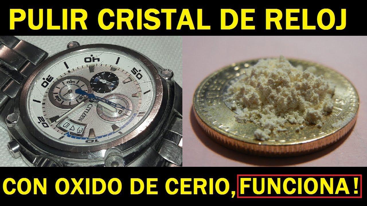 1a80191b0 PULIR FAROS, PARABRISAS, ESPEJOS, RELOJ, SORPRENDENTE !!, Oxido De Cerio,  cerium oxide Polish**