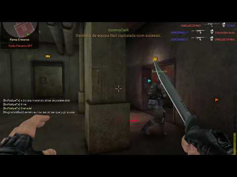 Blackshot Global - Player ABNORMAL11 usando hacker e Player Titan, GnomoDark dando f12