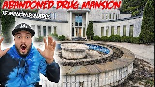 EXPLORING ABANDONED HAUNTED DRUG DEALERS MANSION G0NE WRONG!!