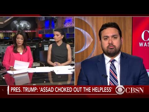 President Trump Orders U.S. Airstrike on Syria