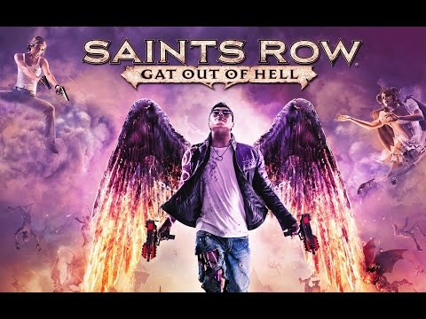 Saints Row : Gat Out Of Hell All Cutscenes (Game Movie) p HD