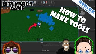 Roblox - Lets Make A Game - How To Build A Tool (with ContextActionService)