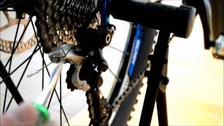 Настройка заднего переключателя велосипеда(, 2012-08-30T22:13:22.000Z)