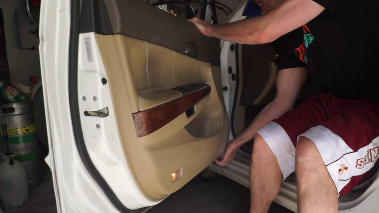 2008 Accord 8th Gen Door Panel Removal Arm Rest Install Youtube