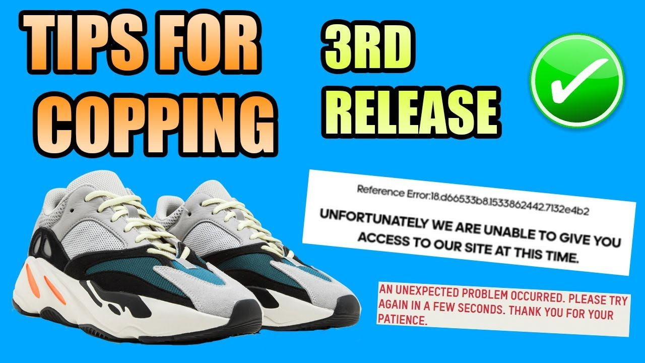 6e4504bd7aace Tips For Copping The Yeezy 700 WAVE RUNNER !