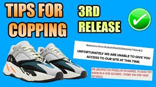 Tips For Copping The Yeezy 700 WAVE RUNNER !   ERRORS / BYPASS / FAQ