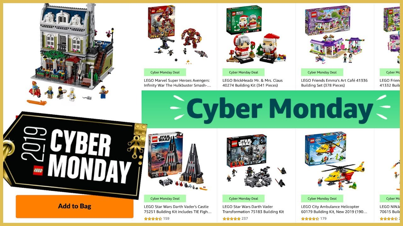 Lego Amazon Cyber Monday Deals 2019 Youtube