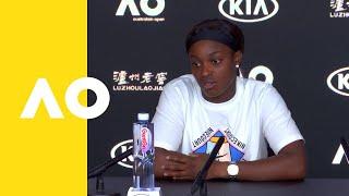 Sloane Stephens press conference (1R)   Australian Open 2019