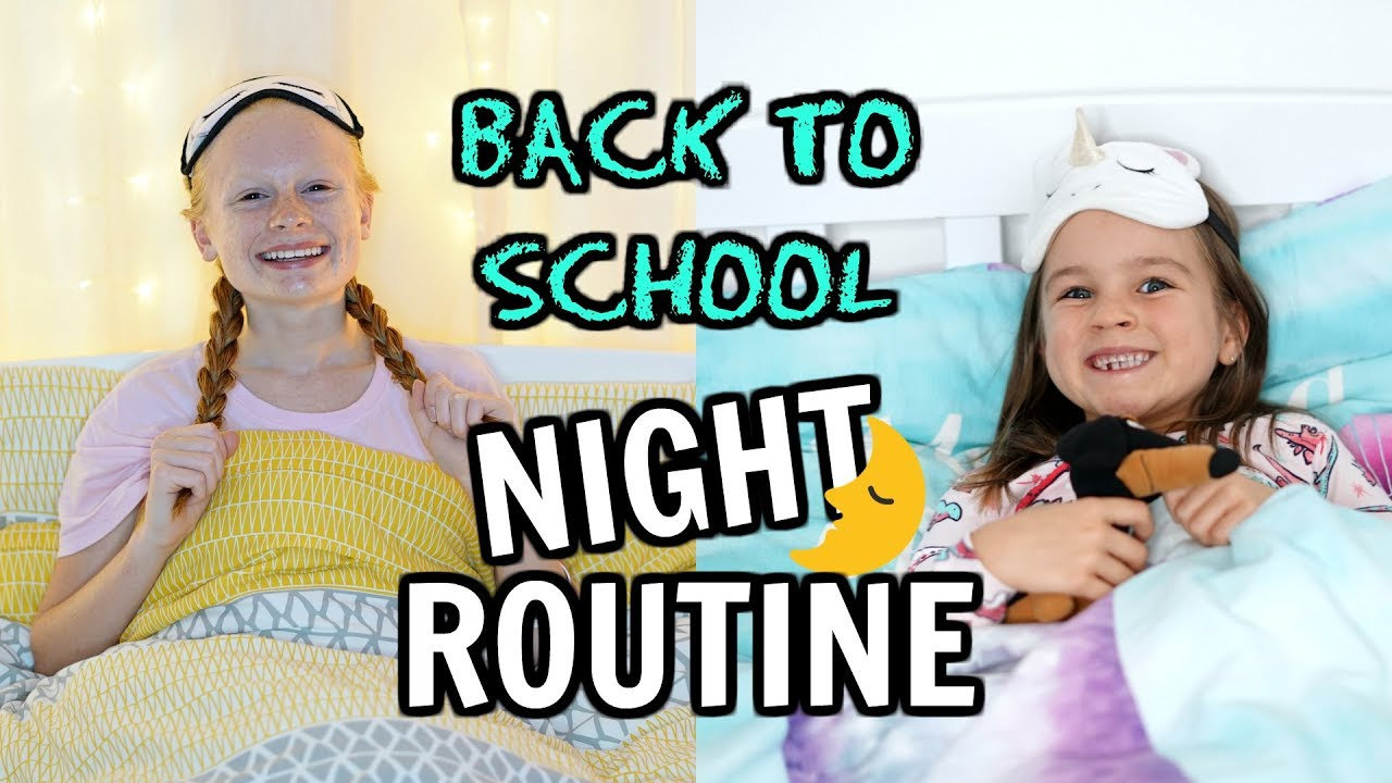 back-to-school-night-time-routine