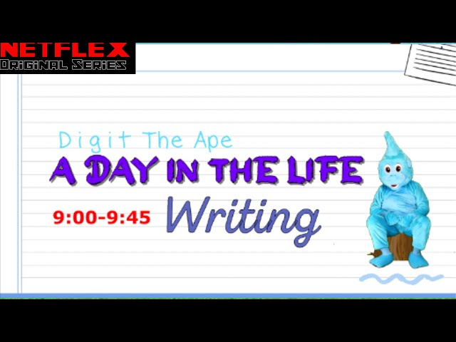 Writing (Literacy): Digit the Ape - A Day in the Life (Move 'n' Learn #4)