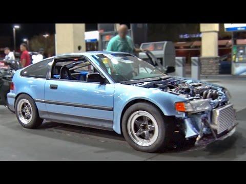 Turbo Honda CRX vs ALL - Arizona STREETS