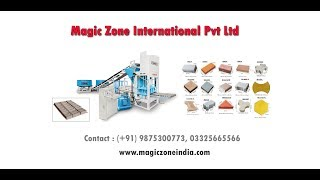 Fly Ash Bricks Hi-Tech Machine Magic Zone